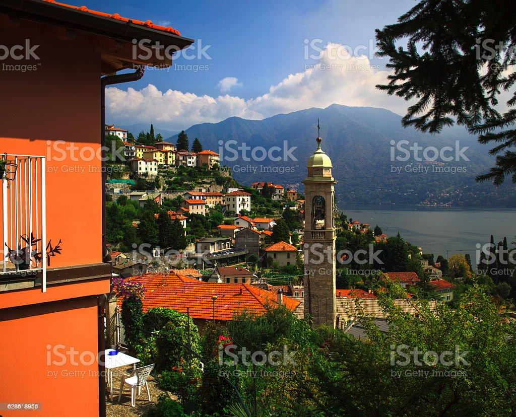 Lake Como Commune, Italy stock photo
