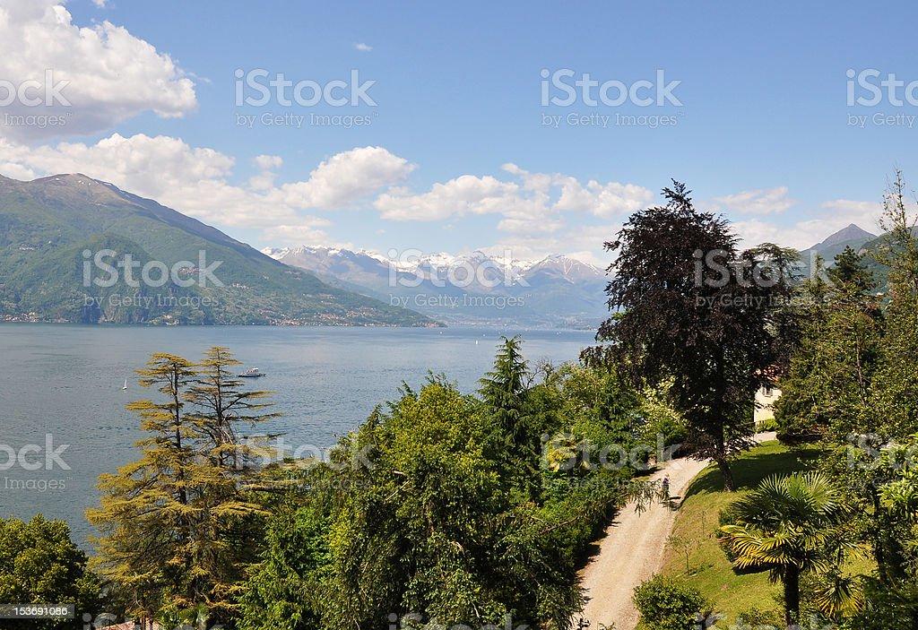 Lake Como, Italy royalty-free stock photo