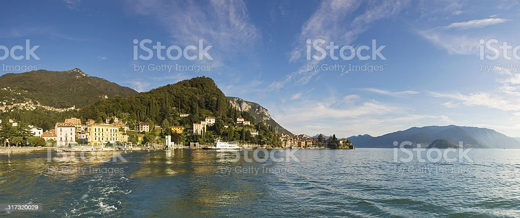 Lake Como. royalty-free stock photo