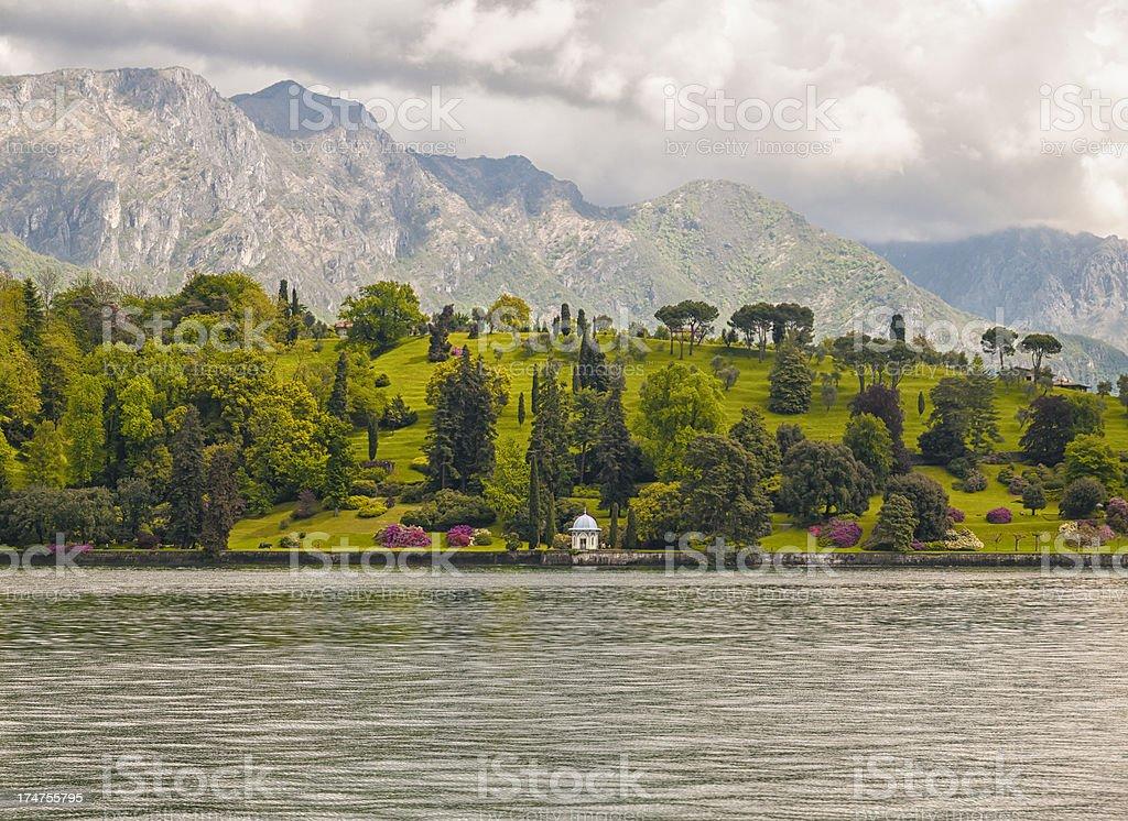 Lake Como royalty-free stock photo