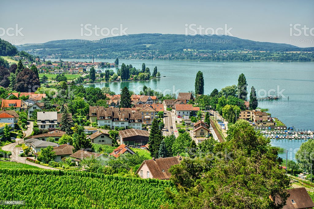 Lake Constance HDR stock photo