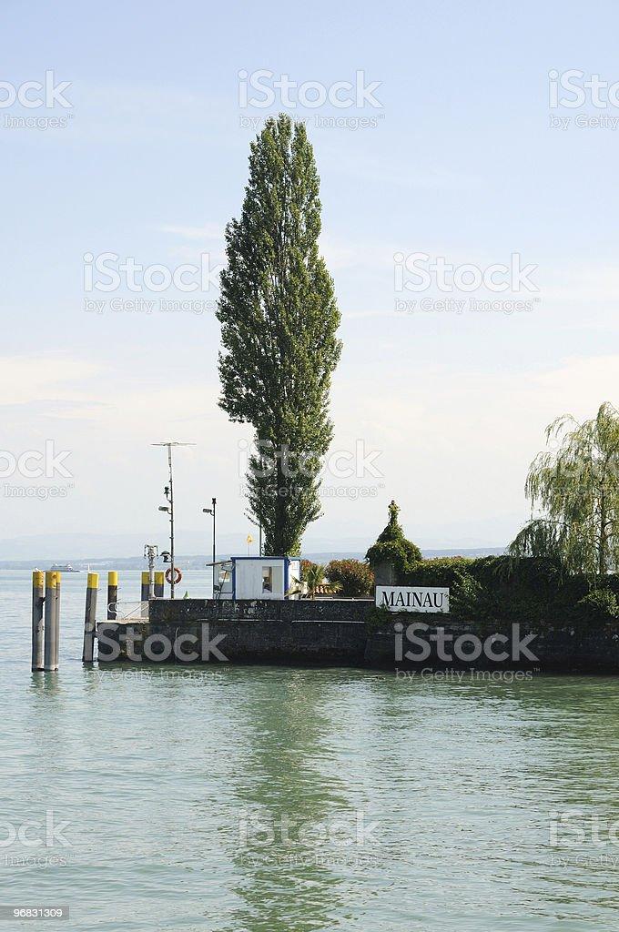 Lake Constance Jelly Isle Mainau stock photo