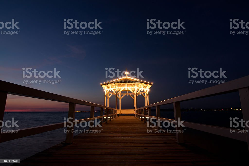 Lake Constance - Pavillon stock photo