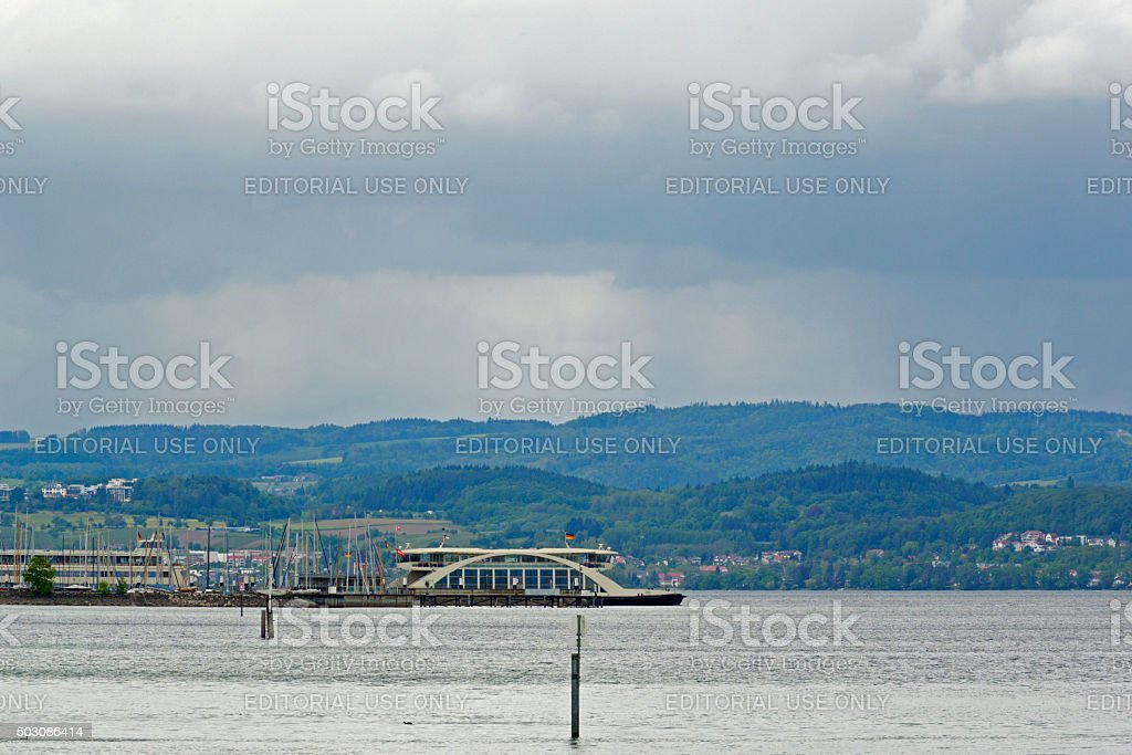 Lake constance stock photo