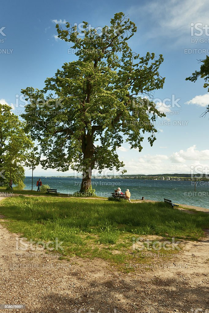 Lake Constance royalty-free stock photo