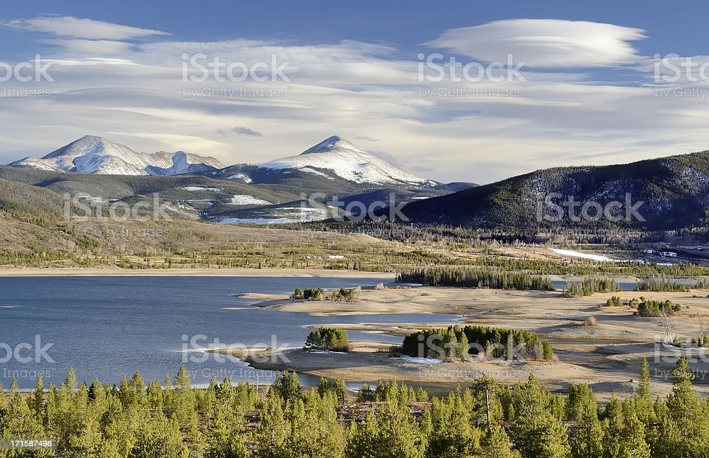 Lake Dillon, Frisco, Colorado stock photo