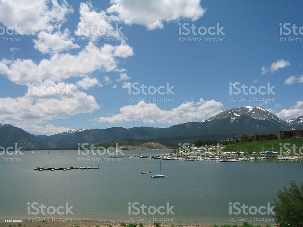 Lake Dillon stock photo
