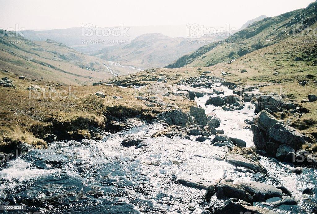 Lake District Beck stock photo
