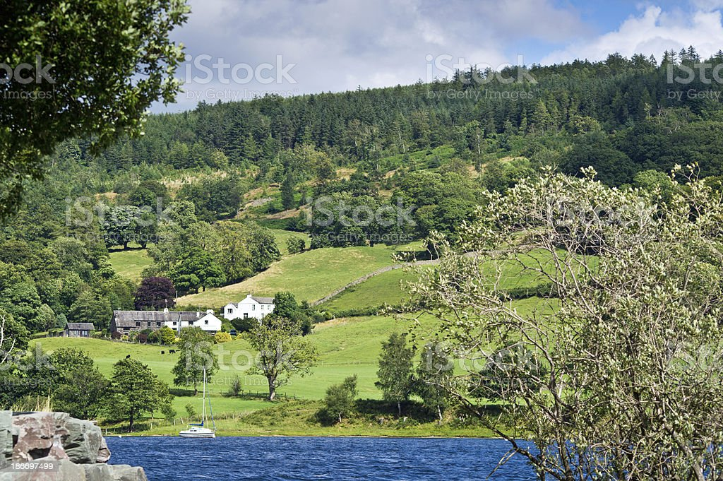 Lake District Cottage or farmhouse royalty-free stock photo