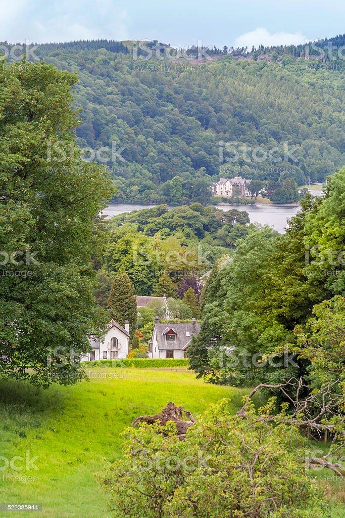 Lake District Countryside stock photo