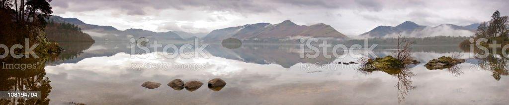 Lake District dawn stock photo