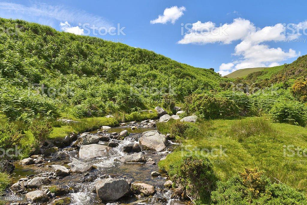Lake District mountain stream royalty-free stock photo