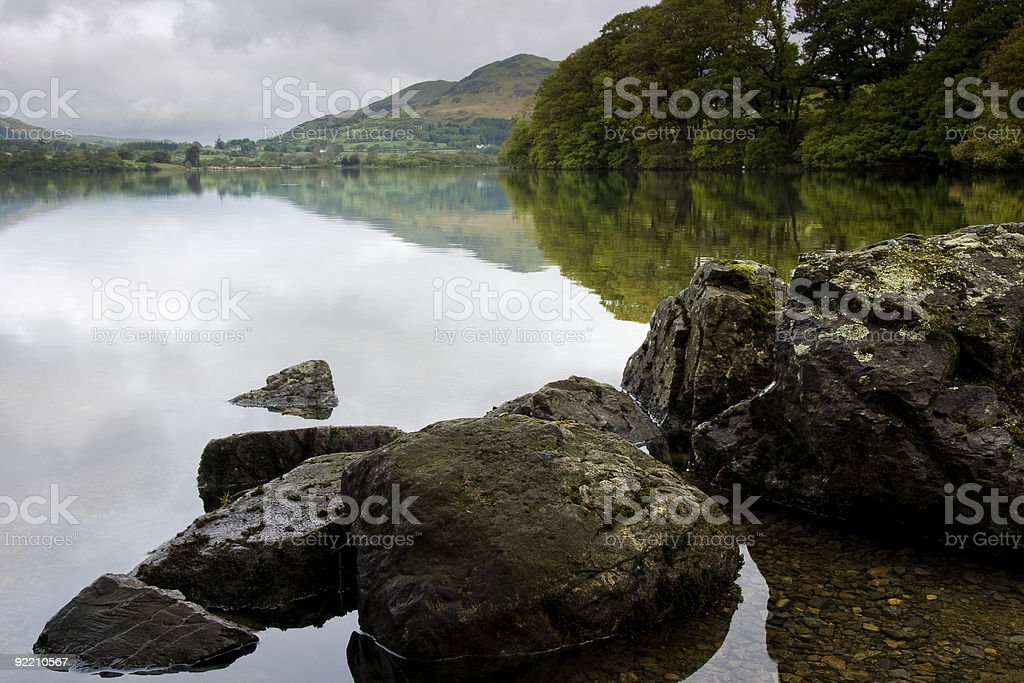 Lake District zbiór zdjęć royalty-free
