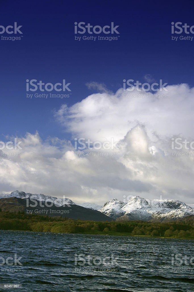 lake district royalty-free stock photo