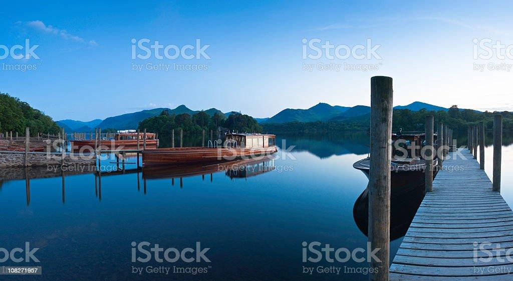 XXXL Lake District Reflections royalty-free stock photo