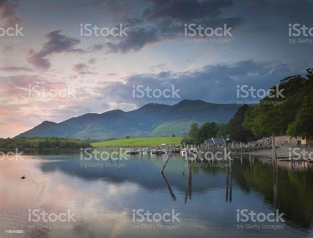 Lake DIstrict Reflections royalty-free stock photo