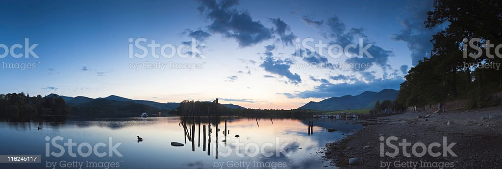 Lake District Reflections stock photo