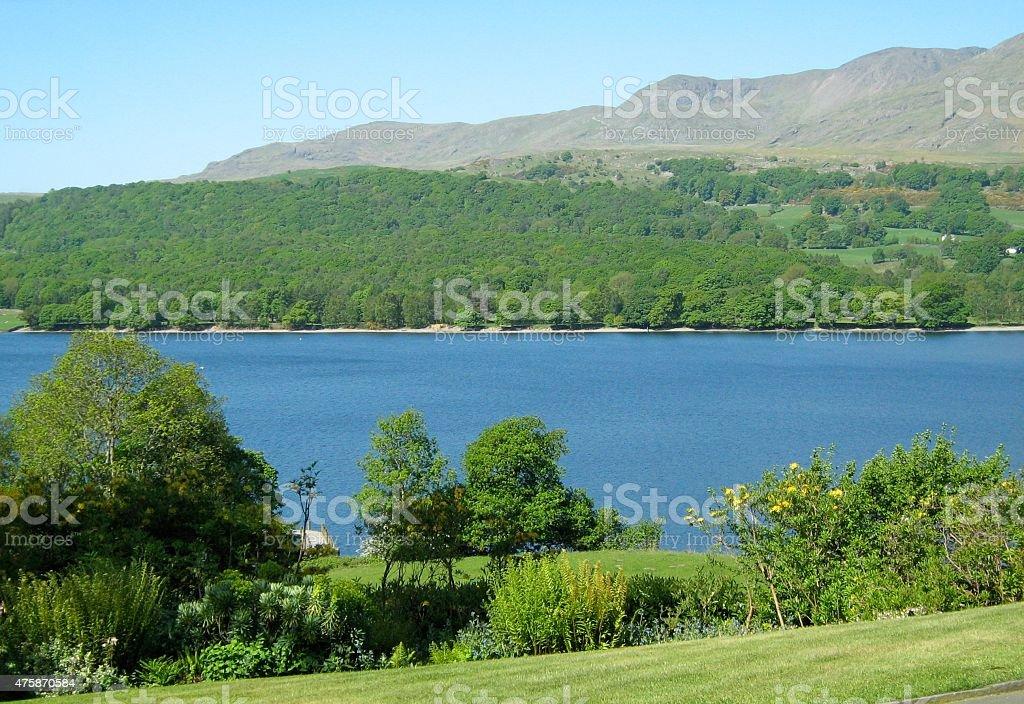 Lake District Scenery stock photo