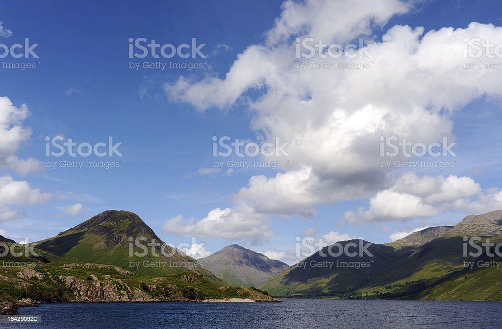 Lake District Scenic stock photo