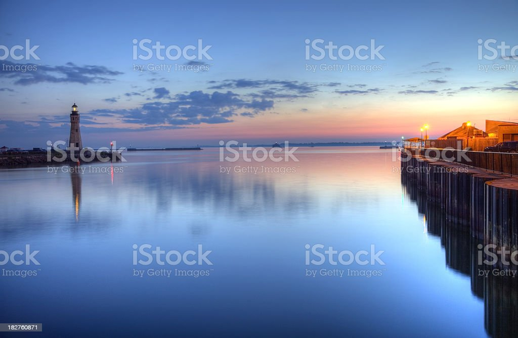 Lake Erie stock photo