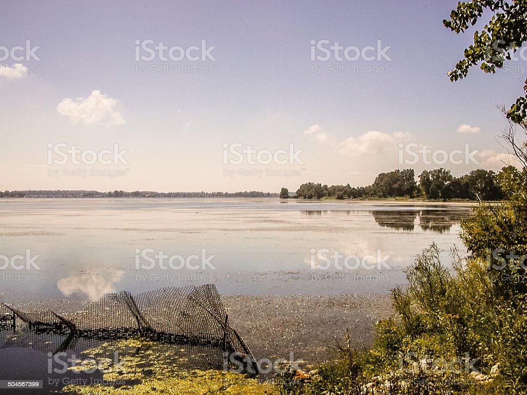 Lake Erie royalty-free stock photo
