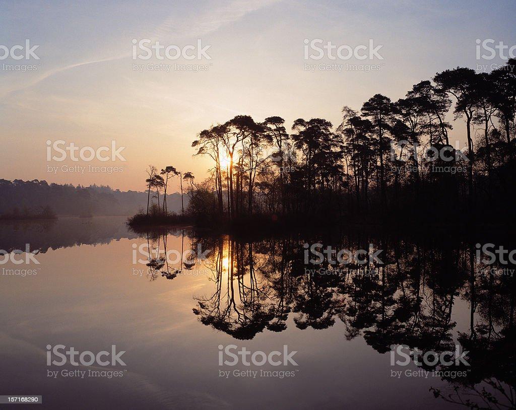 Lake Esch, The Netherlands stock photo