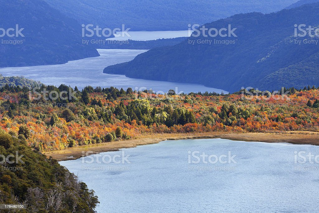 Lake Estefan, Argentina royalty-free stock photo