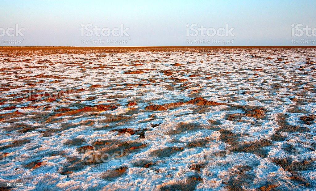 Lake Eyre, South Australia, Australia royalty-free stock photo