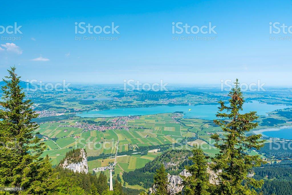 Lake Forggensee in Allgäu - Germany stock photo