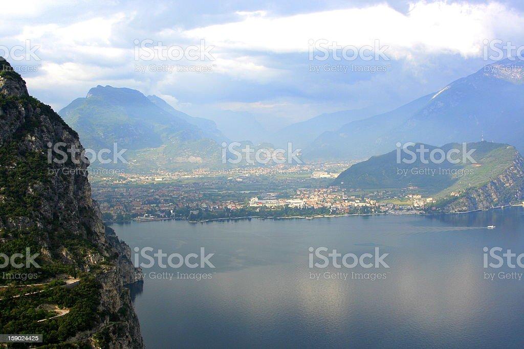 Lake Garda, Italy royalty-free stock photo