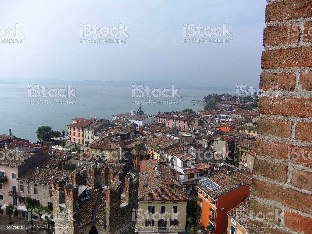 Lac de Garde, Italie photo libre de droits