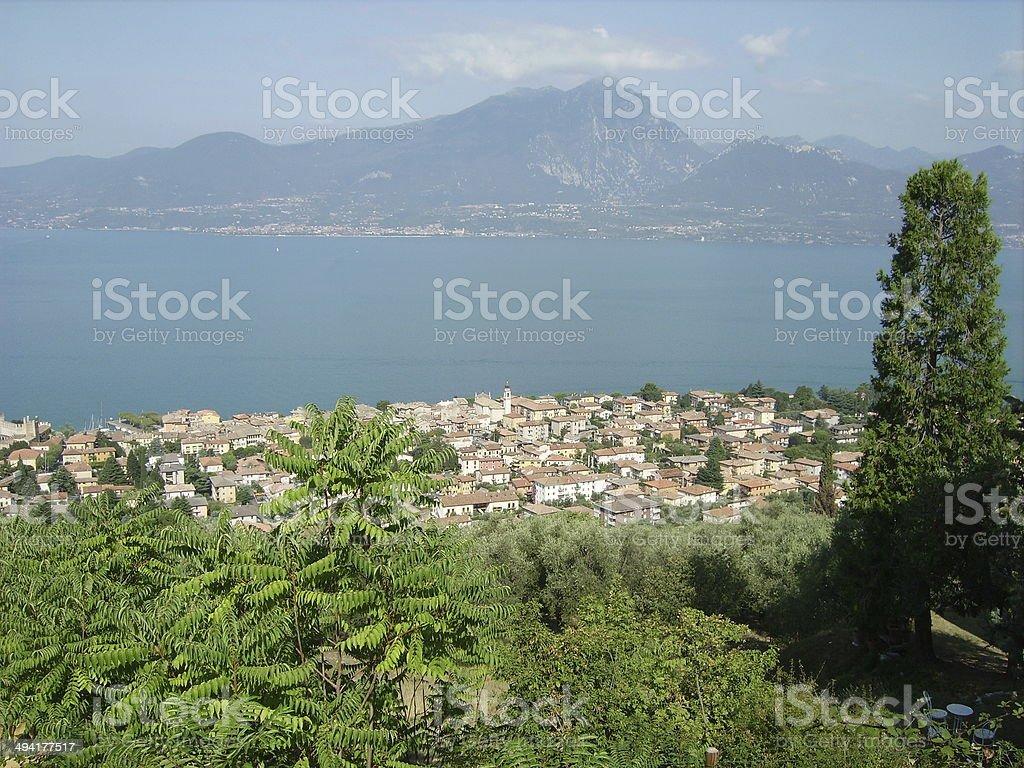 Lake Garda. Italy stock photo