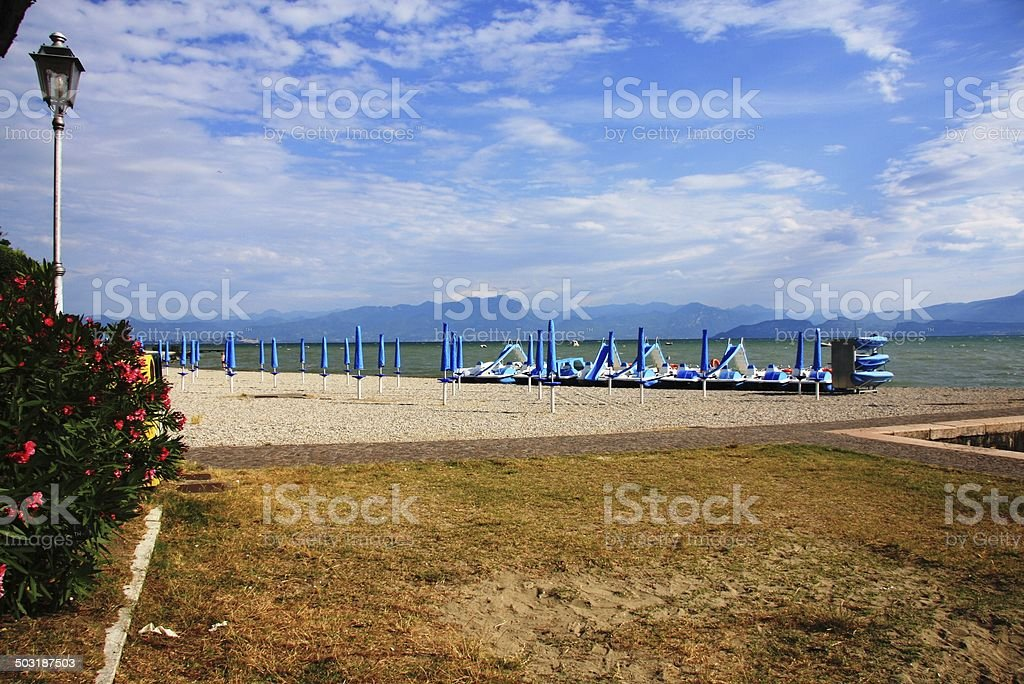 Lake Garda stock photo