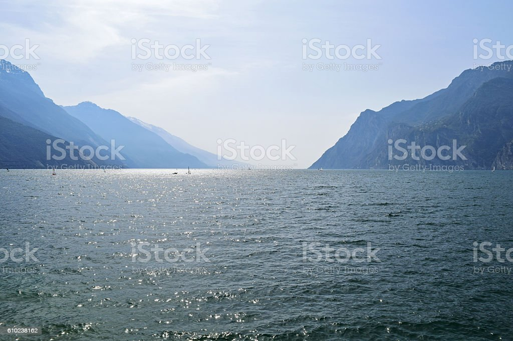 Lake Garda stock photo