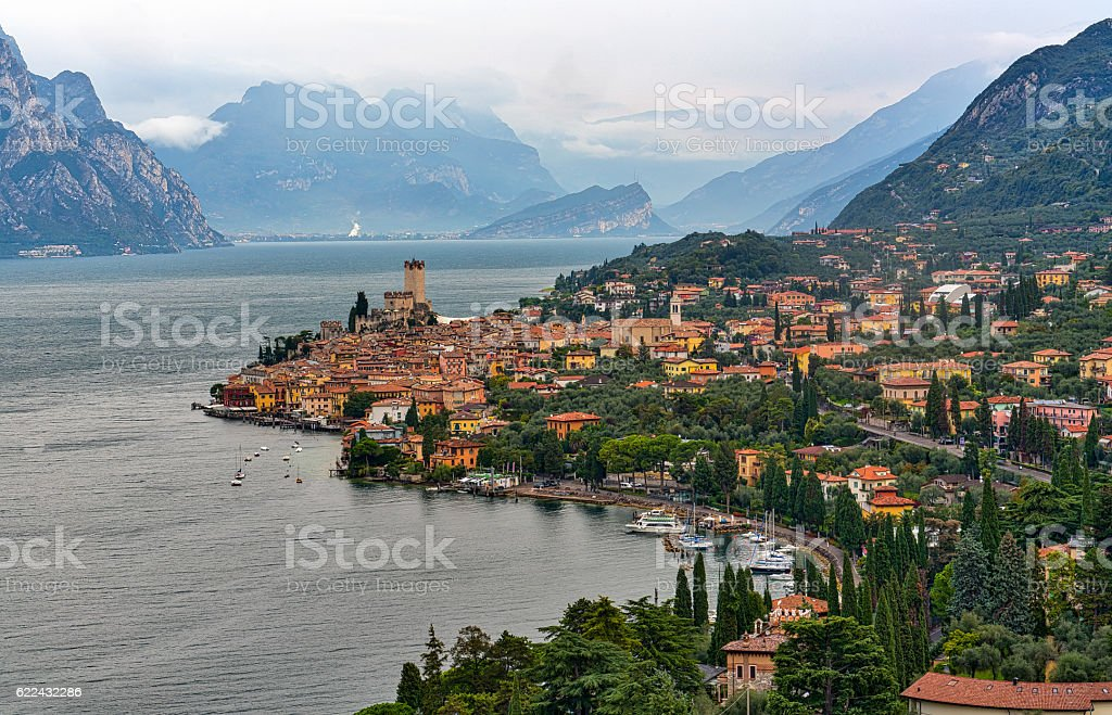 Gardasee stock photo