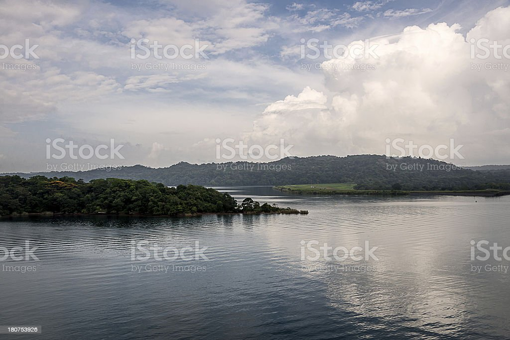 Lake Gatun royalty-free stock photo