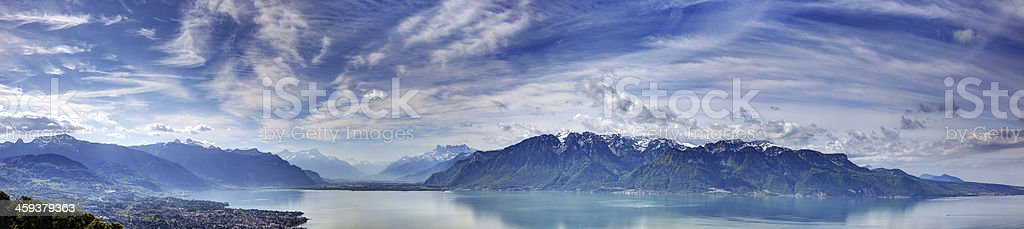 Lake Geneva stock photo