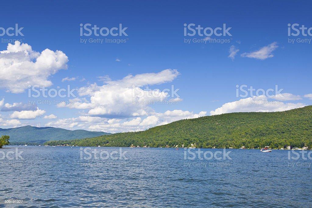 Lake George, NY. royalty-free stock photo