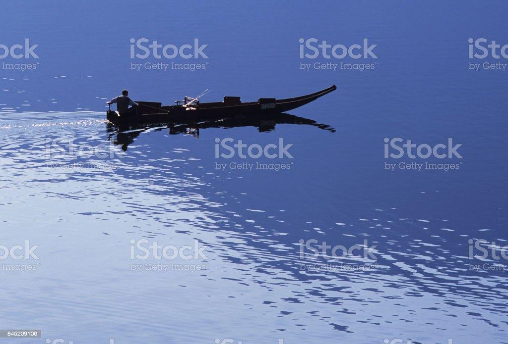 Lake Hallstatt stock photo