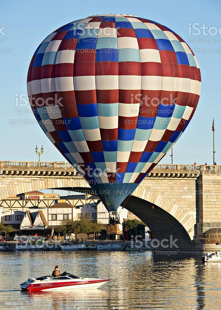 Lake Havasu City Balloon Fest royalty-free stock photo