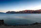 Lake Hawea located in the Otago Region of New Zealand