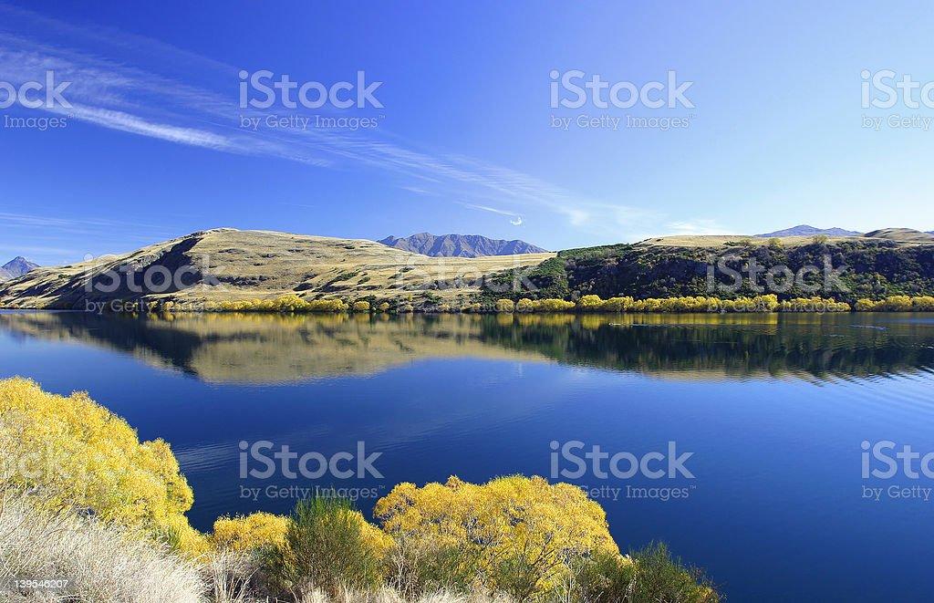 Lake Hayes royalty-free stock photo