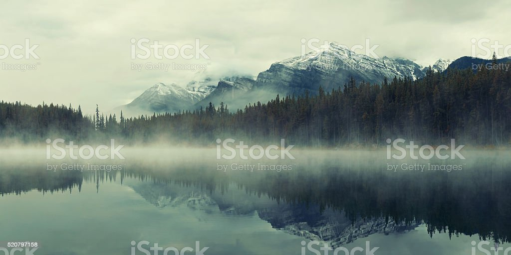 Lake Herbert stock photo