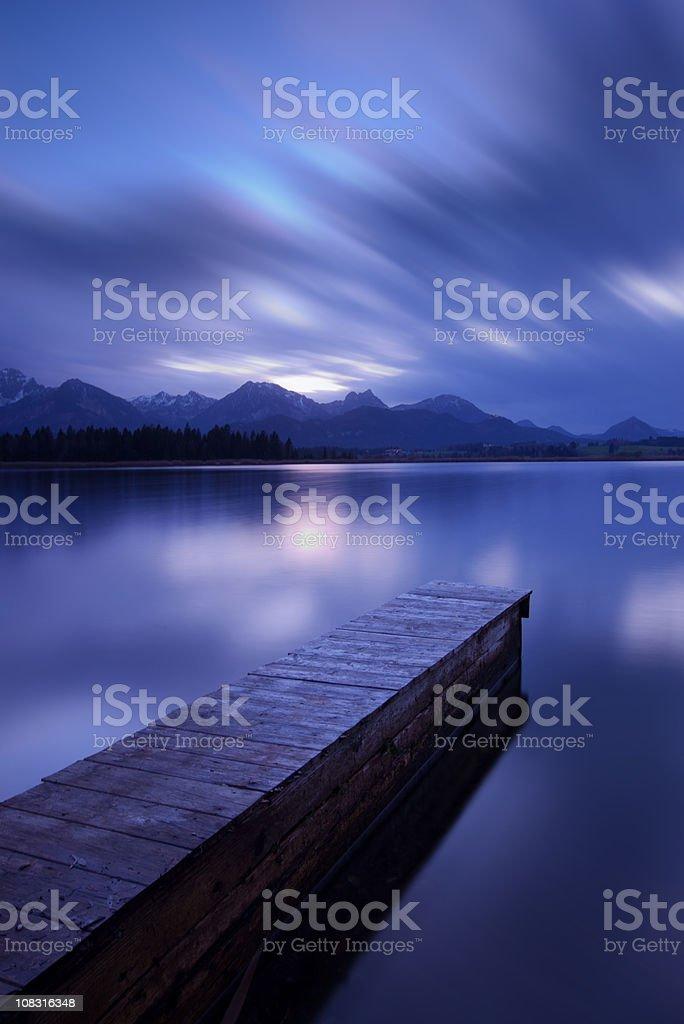 lake hopfensee royalty-free stock photo
