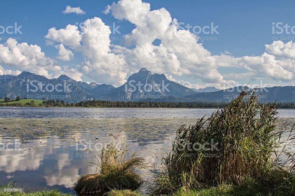 lake Hopfensee stock photo
