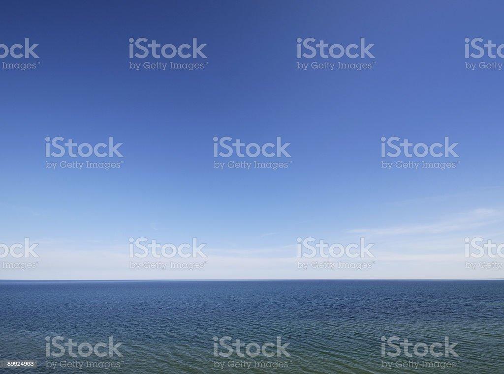 Lake Horizon royalty-free stock photo