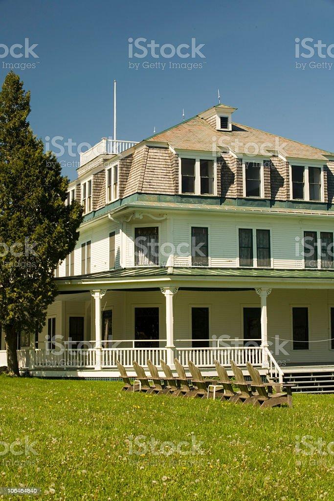 Lake House royalty-free stock photo