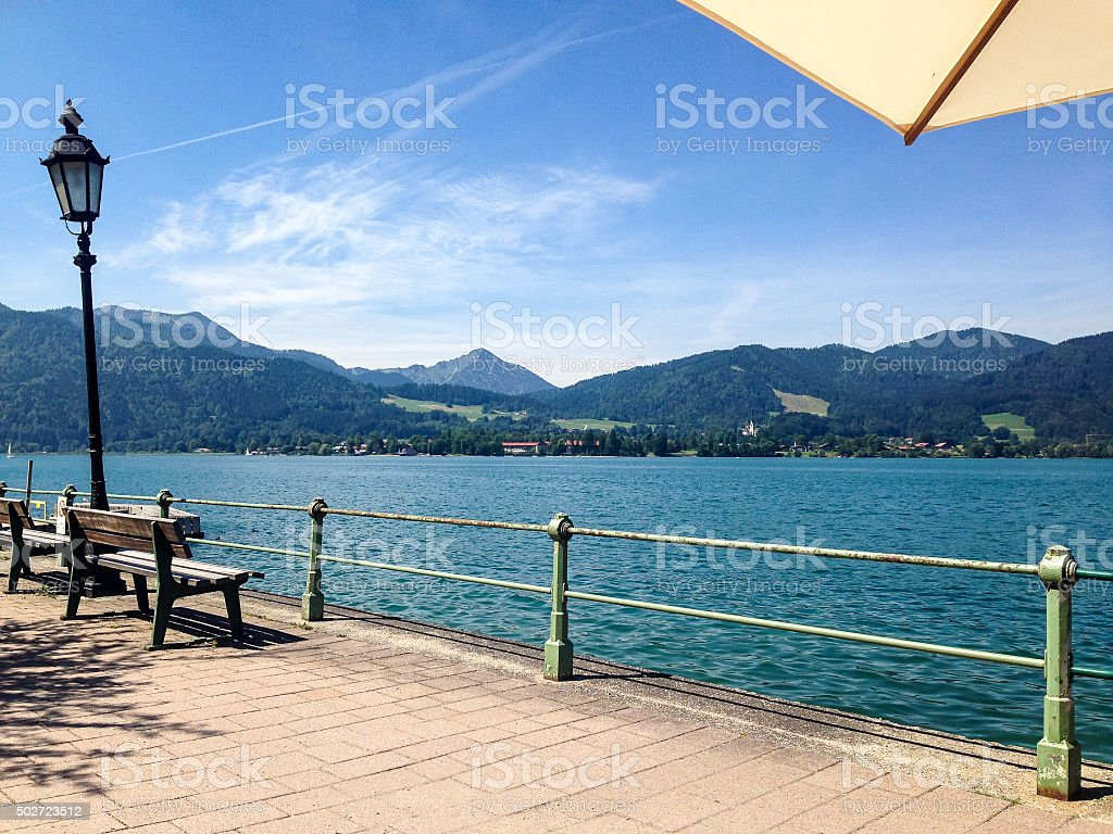 See in Bayern stock photo