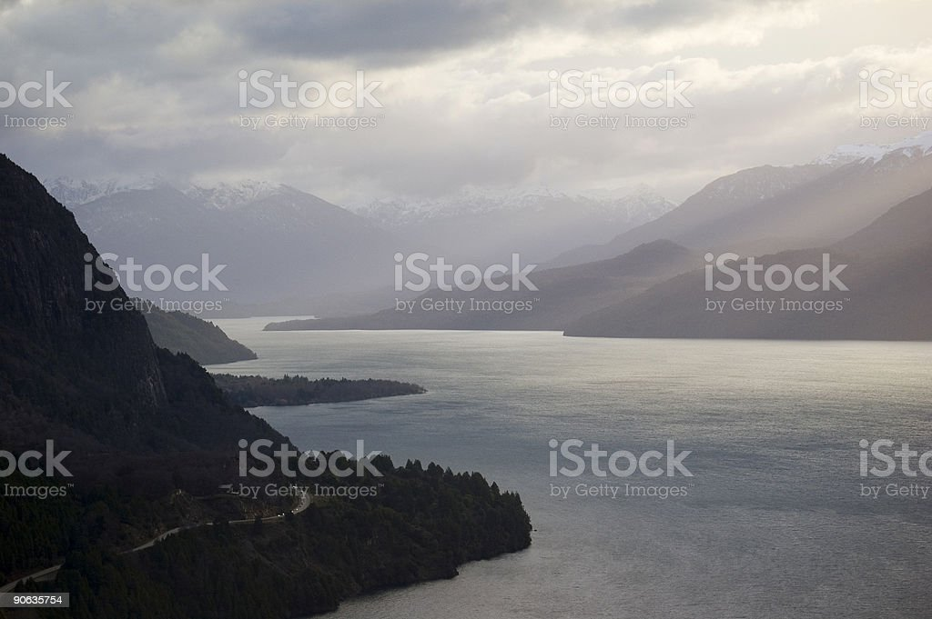 Lake in Patagonia royalty-free stock photo