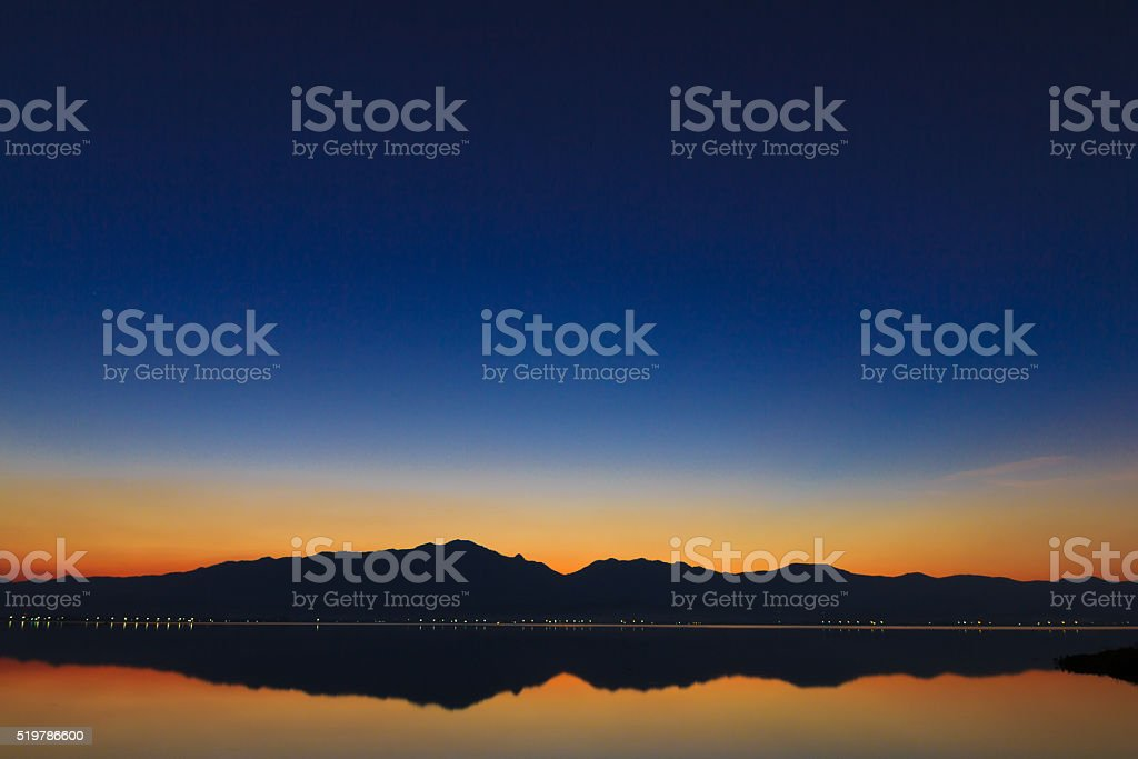 Lake in Thailand ,Motion blur stock photo